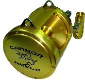 Canyon Reels EX-50 Two Speed Trolling Reel
